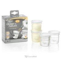 Baby feeding products TOMMEE TIPPEE Контейнеры для хранения грудного молока 60 мл., 4 шт. (42301071)